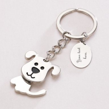 Personalised Dog Key Ring with Engraving | Someone Remembered